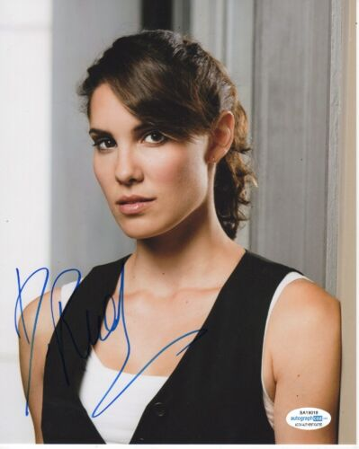 Daniela Ruah NCIS Autographed Signed 8x10 Photo ACOA 2020-1