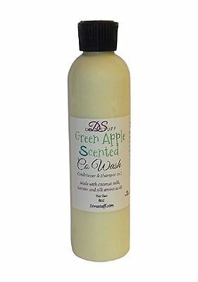 Green Apple Scented Co-Wash Shampoo & Conditioner, Diva Stuff, Green Apple Scent Conditioner Paraben Free Fragrance