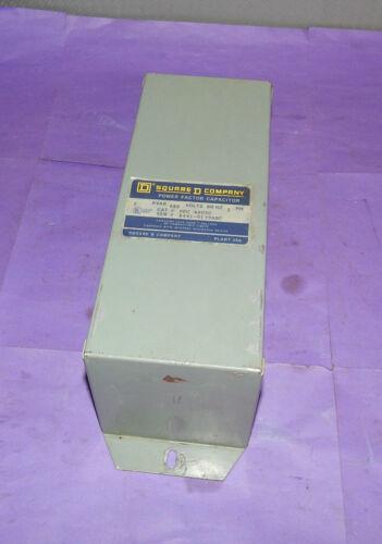 Square D SqD PFC 4005C Capacitor 5KVAR 480Volt 60Hz 3Phase PFC4005C