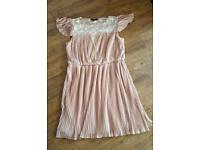 Pleated dress size 18