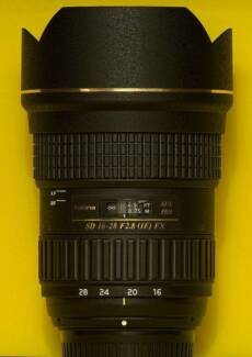 TOKINA Wide Angle Lens 16-28mm F2.8 to suit NIKON - AS NEW Bellerive Clarence Area Preview