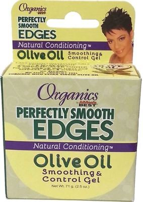 Africa's Best Organics Perfectly Smooth Edges Olive Oil Edge Control Gel 2.5