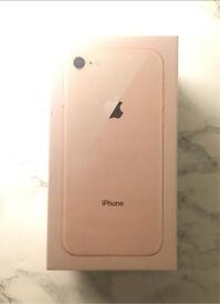 Brand New Apple iPhone 8 Gold *Vodafone