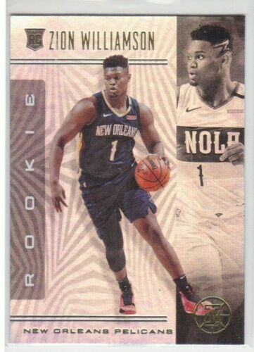 2019-20 PANINI ILLUSIONS NEW ORLEANS PELICANS ZION WILLIAMSON RC NO.151