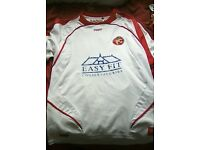 Walsall fc away shirt Medium white by swift