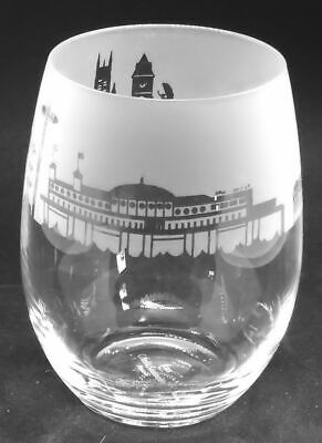 BRIGHTON SKYLINE Frieze Boxed 36cl Crystal Stemless Wine / Water Glass