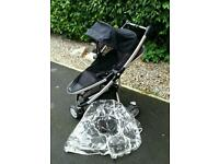 Quinny Zapp Xtra Pram with Accessories- Great Condition
