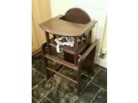 Baby Weavers 3-in-1 Highchair