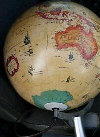 This is a Scan-Globe Made in Denmark Globe Lamp