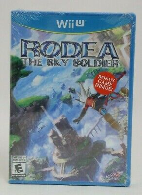Rodea the Sky Soldier (Nintendo Wii U) + Bonus Game BRAND NEW SEALED