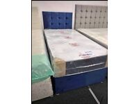 💫HUGE SALE-Brand new DIVAN and mattresses starting from £99-available in many colours