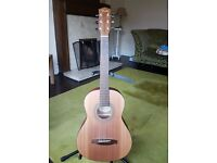 Fender 3/4 size acoustic guitar, 1 year old