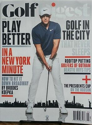 Golf Digest Sept 2017 Brooks Koepka Play Better Rooftop Putting FREE SHIPPING (Golf Digest Putting)