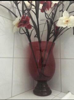 Vase With Fake Flowers For Sale  Meadow Heights Hume Area Preview