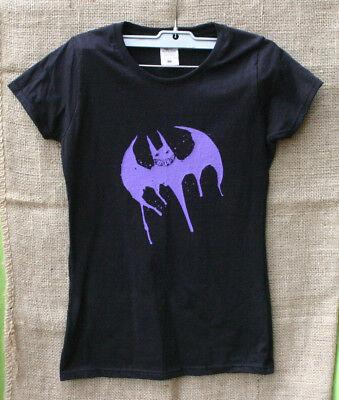 Damen,Shirt,slim fit,larp,Joker,Bat,Sign,Fledermaus,Steampunk,Steam,Gr:XS,Bad
