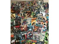 Large comic collection - 65 comics and graphic novels in total *DC and Marvel*