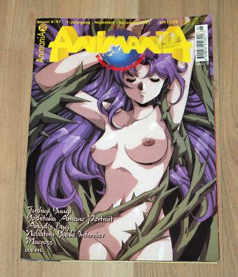Animania Magazine 6/1997 Angel's egg / Fushigi Yûgi / Macross Anime Manga Rare