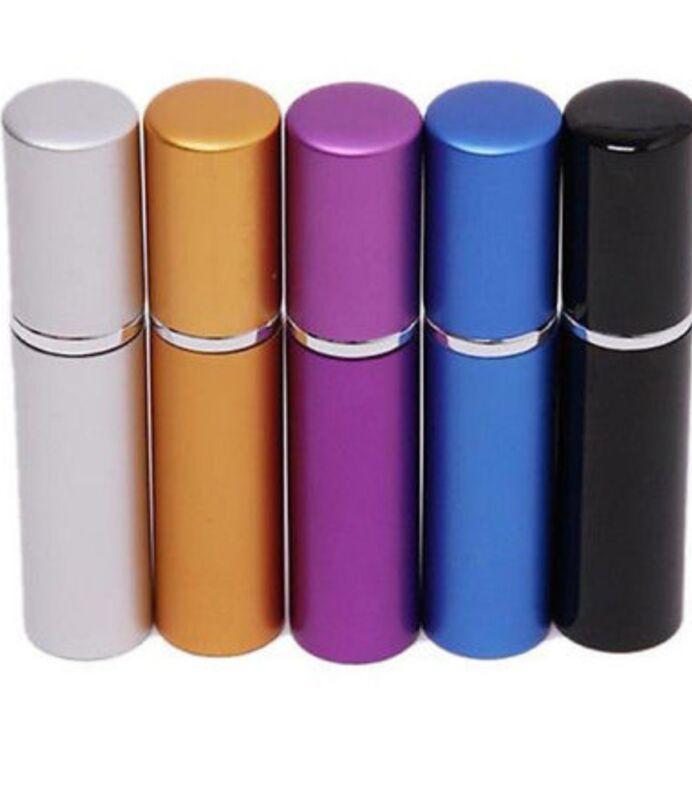 10ml Empty Atomizer Refillable Perfume Travel Size Glass & Aluminum Spray Bottle