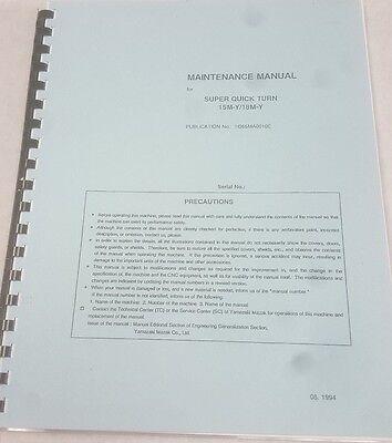 Mazak Maintenance Manual Super Quick Turn 15m-y18m-y Publ H365ma0010e M43