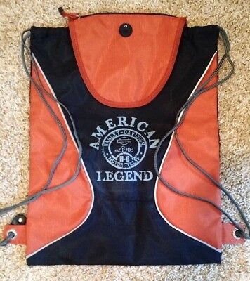 "Harley Davidson ""American Legend"" Licensed Backpack"