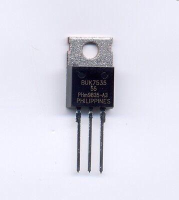 Buk7535-55 N Channel Power Fet Transistor 55 Vds At 34 Amps