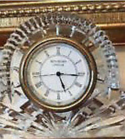 Waterford Crystal Clock- perfect condition