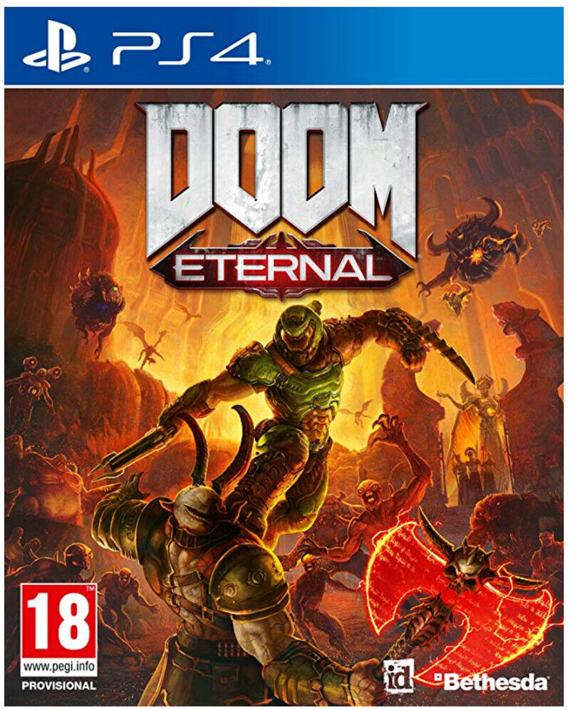 Doom Eternal (PS4)  BRAND NEW AND SEALED - IN STOCK - QUICK DISPATCH
