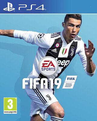 PS4 FIFA 19 Disponibile