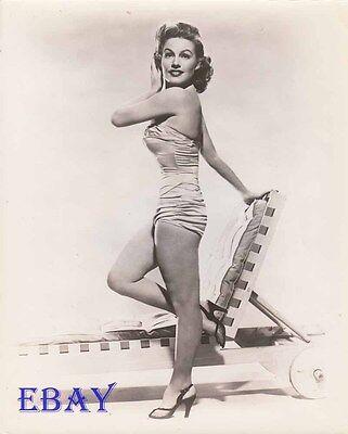 Gale Robbins Busty Leggy Vintage Photo