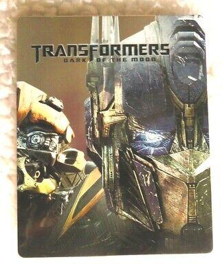 TRANSFORMERS: DARK OF THE MOON STEEL BOOK BLU-RAY DISC Shia Labeouf