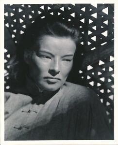 KATHARINE HEPBURN Chinese Vintage DRAGON SEED Clarence Bull MGM Portrait Photo
