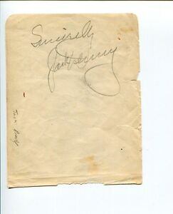 Jack-Denny-Jazz-Big-Band-Ethelind-Terry-Actor-Signed-Autograph