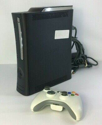 Xbox 360 Elite 120 GB Black Console Only WORKING