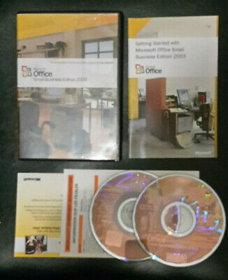 Microsoft Office 2003 Small Business Edition Upgrade for the PC inc. Word, Excel for sale  Shipping to South Africa
