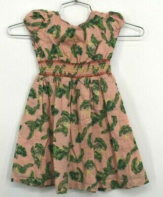 The Webster Flamingo Dress Girls Cotton Casual Summer Evening Everyday Size 5T