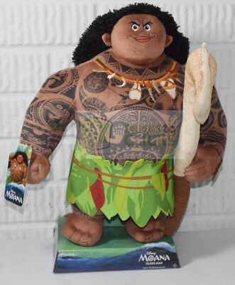 Disney 13  Large Moana Talking Plush Maui Genuine