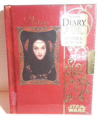Star Wars Princess Amidala (Star Wars Episode 1 Princess Amidala Diary w Key- Style B- 390)