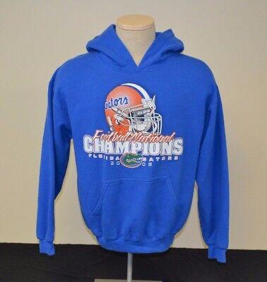 2008 Adult Hooded Sweatshirt (FLORIDA GATORS 2008 NATIONAL CHAMPIONS ADULT MEDIUM M HOODED SWEATSHIRT)