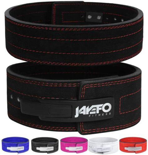 jayefo Genuine Leather Lever Belt Powerlifting bodybuilding Crossfit IPF gym
