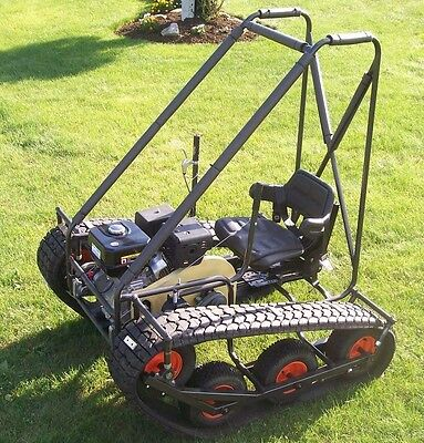 Personal Tracked Vehicle Go Kart BUILD PLANS ONLY