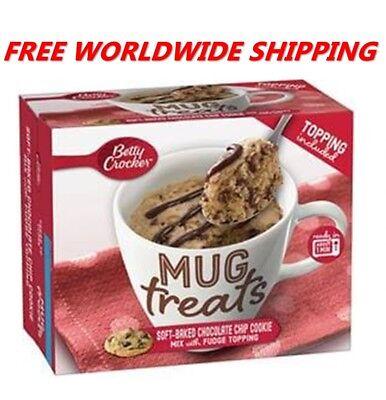 Betty Crocker Chocolate Chip Cookie (Betty Crocker Chocolate Chip Cookie Mix Mug Treats with Topping FREE WORLD)