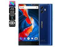 ULEFONE MIX SMARTPHONES 4GB RAM 64GB ROM 5.5 INCH SIM FREE ANDROID 7.0 BLUE, NEW