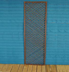 Wooden Trellis Garden Plant Support - Framed Fence Panel 120cm x 45cm *Value*