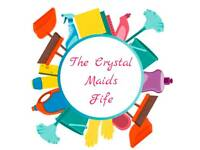 The Crystal Maids Fife general cleaning service , deep cleaning, end of tenancy & Ironing