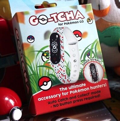 Go-tcha LED Touch Screen Wristband for Pokemon Go Plus Accessory - New/Sealed