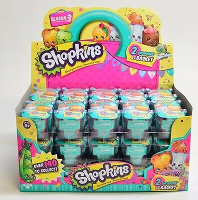60  Off  Authentic  Season 3 Shopkins 2 In A Basket   Case Of 30 Sealed