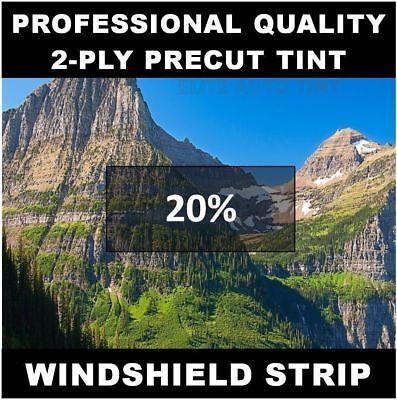 Dodge Avenger Windshield tint strip precut 20% darkness (Year Needed)