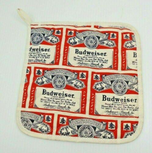 Vintage Budweiser Hotpad Potholder Unused