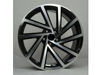"""19"""" Spielberg Style Alloy wheels and tyres suitable for a Golf, Jetta, Caddy ETC"""