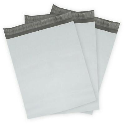 100 X 19 X24 White Poly Mailers Bag Self Seal Shipping Bags 1.6 Mil